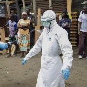 Bald bis zu 10 000 Ebola-Fälle pro Woche (Foto)