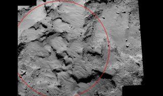 Mission «Rosetta»: Geplanter Landeplatz auf Komet bestätigt (Foto)