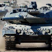 Grüne kritisieren Panzerpläne der Koalition (Foto)