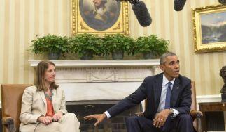 Obama wegen Ebola unter Druck (Foto)