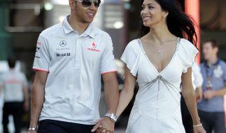 Nach dem Bianchi-Unfall gibt Nicole Scherzinger zu: Ich habe Angst um Lewis Hamilton. (Foto)