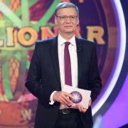 Moderator Günther Jauch freut sich auf die Jubiläumsausgabe von Wer wird Millionär?