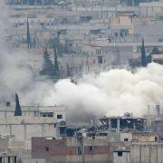 Kampf gegenIS: Kurden bedrängen Dschihadisten in Kobane (Foto)