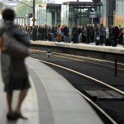 Lokführerstreik trifft Millionen Reisende (Foto)