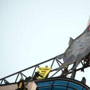Greenpeace demonstriert auf SPD-Zentrale gegen Kohlepolitik (Foto)