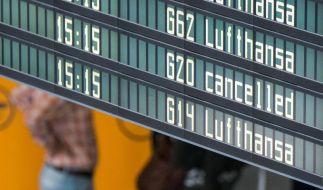 Die Piloten der Lufthansa bestreiken jetzt auch Interkontinentalflüge. (Foto)