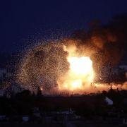 IS erhöht Druck auf Kobane (Foto)