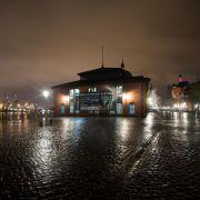 Sturmflut in der Nacht bleibt aus (Foto)