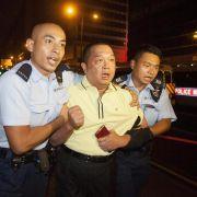 Polizei in Hongkong nimmt nach Demo acht Menschen fest (Foto)