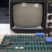 Rekordpreis bei Auktion für einen der ersten Apple-Computer (Foto)