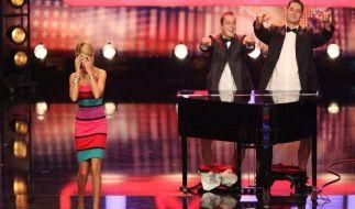Diese Penis-Pianisten schockten Sylvie van der Vaart. (Foto)