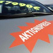 Schwache Konjunktur: Neuwagen-Rabatte ziehen kräftig an (Foto)