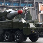 US-Militär: Nordkorea kann Sprengkopf für Atomrakete bauen (Foto)
