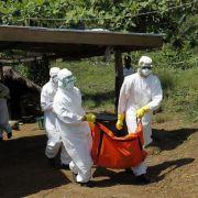 Zahl der Ebola-Fälle auf mehr als 10 000 gestiegen (Foto)