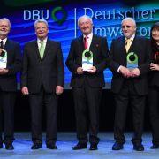 Gauck verleiht hoch dotierten Preis an Umweltpioniere (Foto)