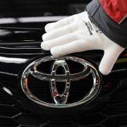 Toyota behauptet Spitzenposition vor Volkswagen (Foto)