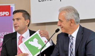 Sachsens SPD stimmt über Koalition mit CDU ab (Foto)