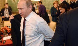 Leidet Russlands Präsident Wladimir Putin an Krebs? (Foto)