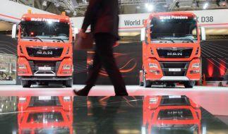 Lastwagenbauer MAN leidet unter Auftragsflaute (Foto)
