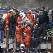 Türkei:Mindestens 18 Kumpel nach Mineneinsturz eingeschlossen (Foto)