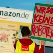 Verhärtete Fronten im Streit um Tarifvertrag bei Amazon (Foto)