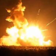 Privater US-Raumfrachter «Cygnus»bei Start explodiert (Foto)