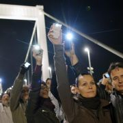 Protest gegen Internet-Steuer in Ungarn schwillt an (Foto)