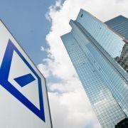 Deutsche Bank mit roten Zahlen (Foto)