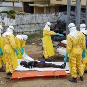 Ausmaß der Ebola-Epidemie in Liberia lässt offenbar nach (Foto)