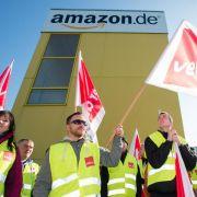 Vierter Streiktag bei Amazon an deutschen Standorten (Foto)