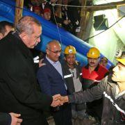 Kaum noch Hoffnung für eingeschlossene türkische Bergleute (Foto)