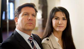 Ein Fall von Liebe 2014: Francis Fulton-Smith und Mariella Ahrens gehen in Serie. (Foto)