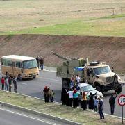 Kurzvisite in Kobane: Erste Peschmerga eingetroffen (Foto)