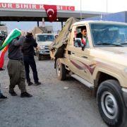 Peschmerga-Verstärkung rückt in Kobane ein - IS erhält Zulauf (Foto)