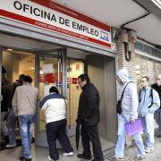 Zahl der Arbeitslosen in Spanien gestiegen (Foto)