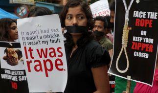 Immer wieder werden Vergewaltigungen in Indien als Kavaliersdelikte abgetan. (Foto)