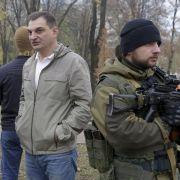 Ukrainische Separatistenführer nun «Republikchefs» (Foto)