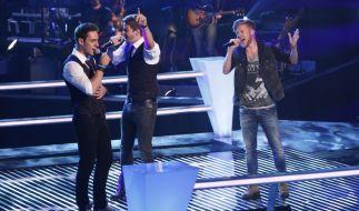 The Voice of Germany 2014: Diese Jungs sorgten in den Battles bei The Voice für Gänsehaut-Feeling. (Foto)
