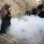 Serie von Anschlägen nährt Angst vor neuer Intifada (Foto)