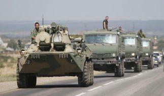 Moskau bestreitet Truppenvorstoß in die Ostukraine (Foto)