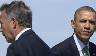 Obama und Republikaner testen Kompromissbereitschaft (Foto)