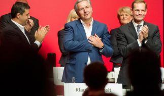 Berliner SPD feiert Wowereit: Regierungschef verabschiedet sich (Foto)