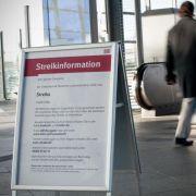 Bahn auch nach Streik noch aus dem Takt (Foto)