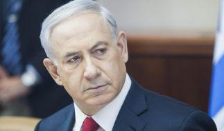 Netanjahu kündigt harte Schritte gegen Demonstranten an (Foto)