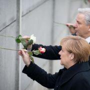 Deutschland feiert 25 Jahre Mauerfall (Foto)