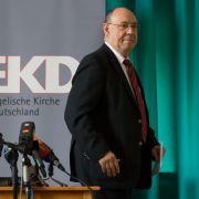 EKD-Chef Schneider beklagt deutsche Flüchtlingspolitik (Foto)