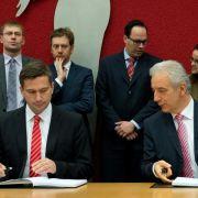 Schwarz-rote Koalition in Sachsen perfekt (Foto)