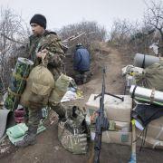 Tote bei Kämpfen in Ostukraine (Foto)