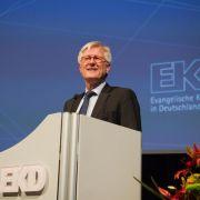 EKD-Chef Bedford-Strohm will Kirche Gehör und Profil verschaffen (Foto)
