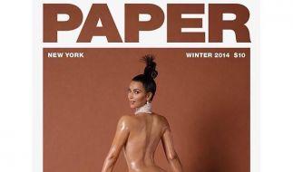 Kim Kardashian als Cover-Girl der November-Ausgabe von Paper. (Foto)